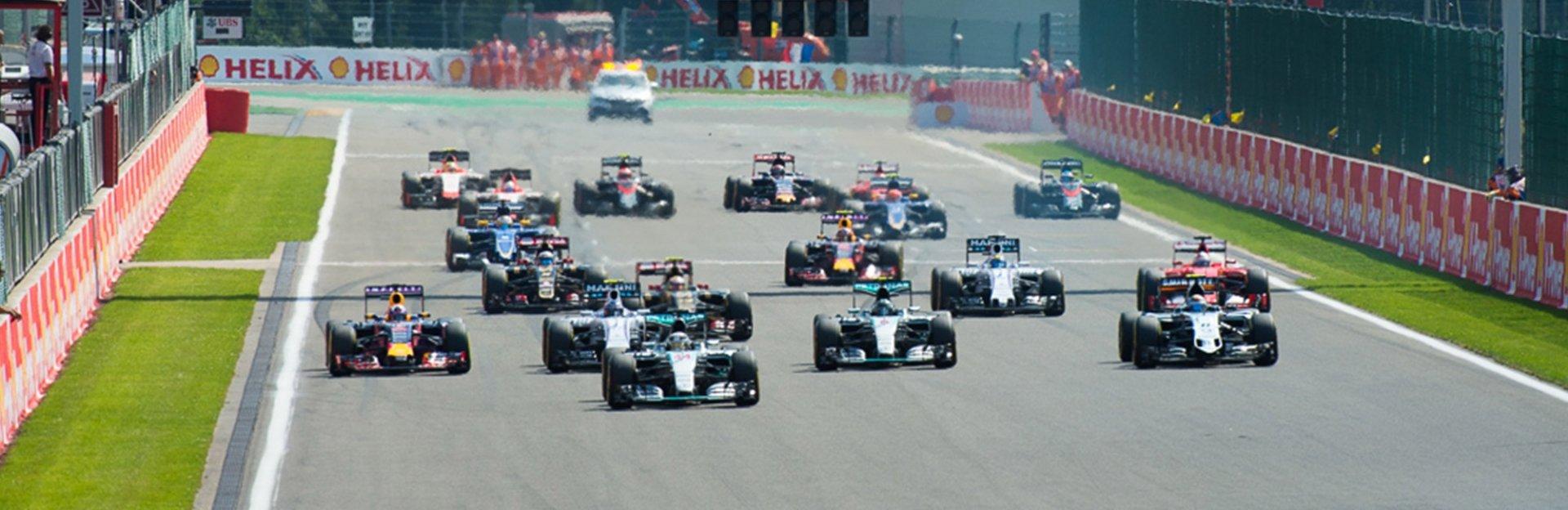 vip Formule 1 - 2017 - Francorchamp België