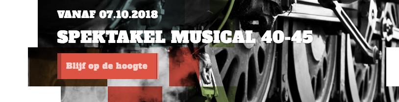 vip arrangement Spektakel musical 40-45