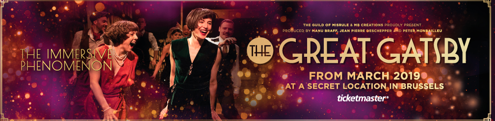 The great Gatsby Belgium vip 2019