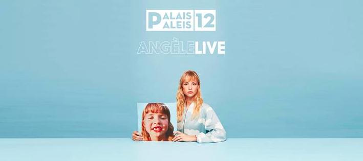 Angèle vip arrangement Brussel Paleis 12 Palais12