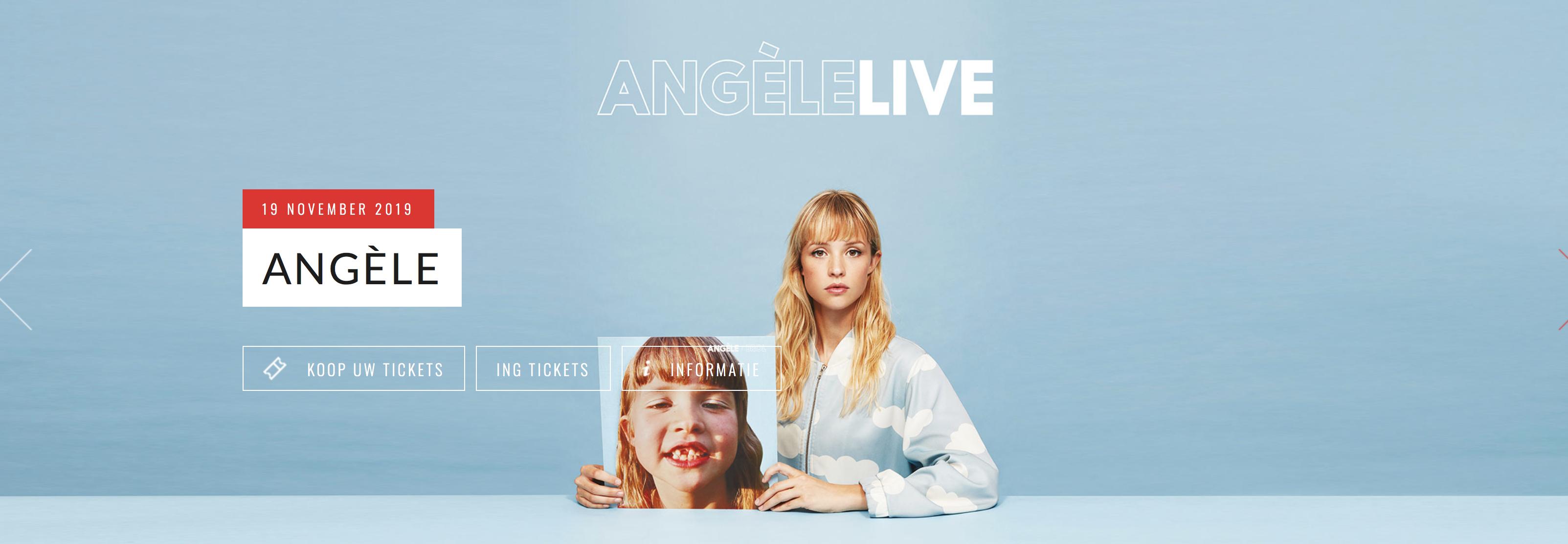 ANGÈlE - LIVE 19 NOVEMBER 2019